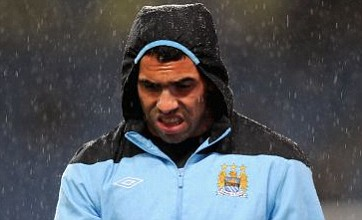 Carlos Tevez eyed by Paris Saint-Germain as Manchester City confirm talks
