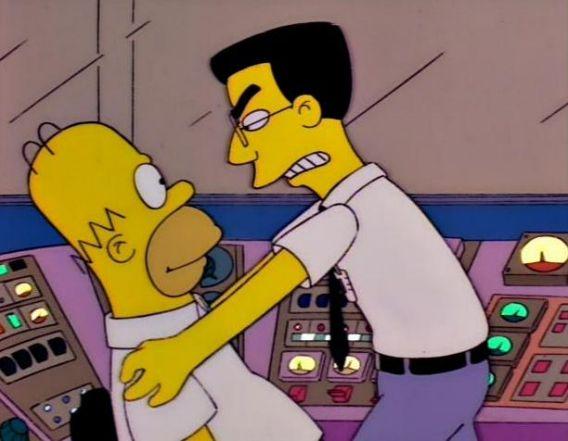 Homer's enemy, Frank Grimes.