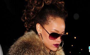 Rihanna's rude night out at London's Stringfellows strip club