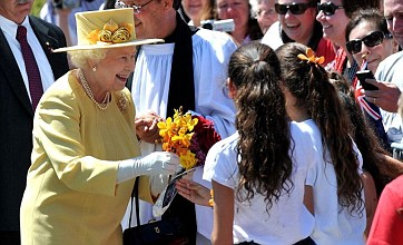 Queen re-wears dress from Prince William and Kate Middleton's wedding