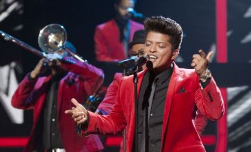 Bruno Mars hits The X Factor with James Brown-inspired performance
