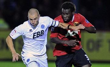 Dimitar Berbatov helps United sink Aldershot in Carling Cup stroll