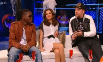 Cher Lloyd amused by Rufus Hound's Kelly Rowland rant on Xtra Factor
