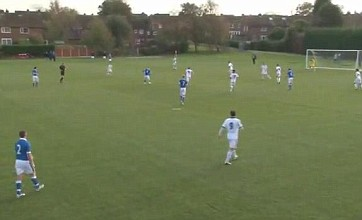 Jesjua Angoy aka Johan Cruyff's grandson scores a screamer for Wigan