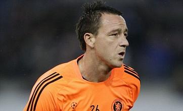 John Terry 'named in preliminary England squad despite race row'