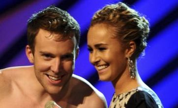 Hayden Panettiere shocked by naked streaker at MTV Europe Music Awards