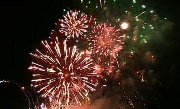 Watch: £6k firework display in Scotland explodes in one go
