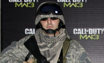 Call of Duty: Modern Warfare 3 UK launch brings out the big guns
