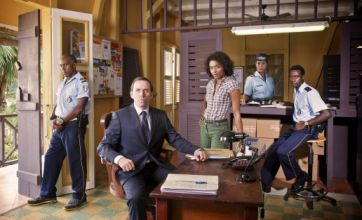 Death in Paradise saw grizzly murder set to upbeat reggae