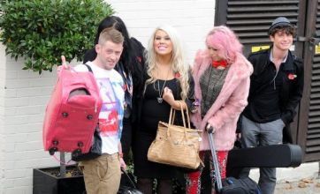 Amelia Lily, Jonjo Kerr, James Michael and 2 Shoes return to X Factor house