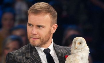 Gary Barlow, Louis Walsh and Tulisa channel Lady Gaga on The Xtra Factor