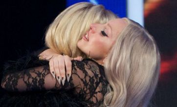Lady Gaga comforts 'inspiring' Kitty Brucknell after X Factor exit