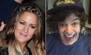 Caroline Flack and One Direction's Harry Styles enjoy awkward reunion