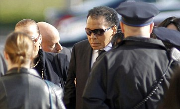 Joe Frazier funeral draws boxing greats Muhammad Ali and Larry Holmes