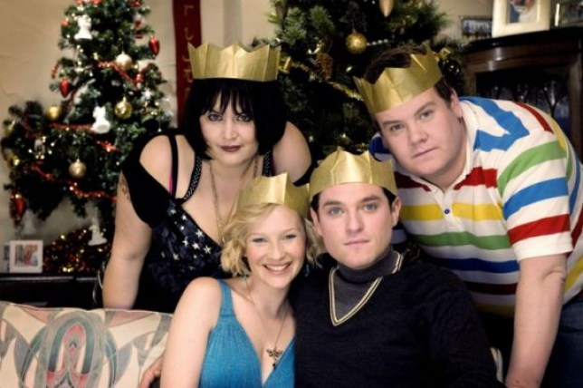 Ruth Jones and James Cordon on The Gavin And Stacey Christmas Special
