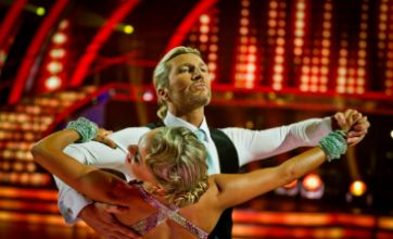 Robbie Savage wants to hide from the cameras after Strictly Come Dancing