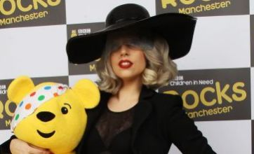 Lady Gaga confesses love for Coldplay at Children in Need Rocks