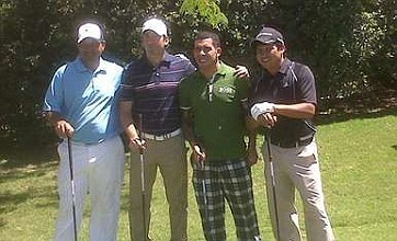 Carlos Tevez wins pro-am golf tournament in Buenos Aires