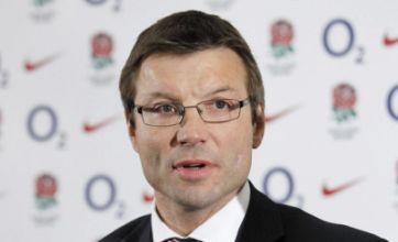 Rob Andrew: RFU is at rock bottom, but I'm staying