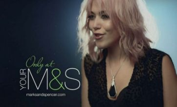 Amelia Lily takes Misha B's spot in the M&S ad – but where are Little Mix?