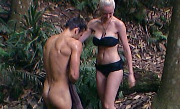 Mark Wright goes for naked shower with Emily Scott in I'm A Celebrity