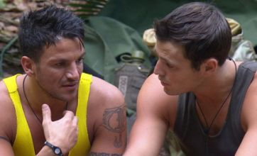 Mark Wright seeks relationship advice from Peter Andre in I'm A Celebrity