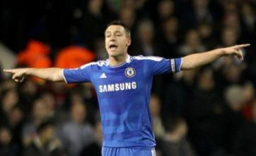 Chelsea turn down players' call for T-shirts in support of John Terry