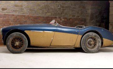 Austin-Healey car of the 1955 Le Mans crash goes on sale for £800,000