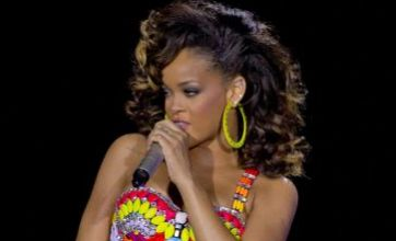 'Exhausted' Rihanna gets grumpy after two days without sleep