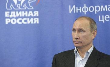 Support for Vladimir Putin dwindles as Communists make gains