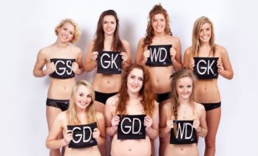 Netball club shoots naked calendar to raise funds