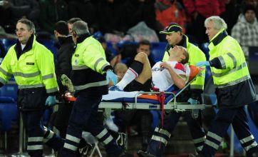 Nemanja Vidic out for season as Man United set to turn to Jonny Evans