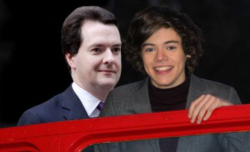 One Direction fans boo George Osborne over Harry Styles rumour