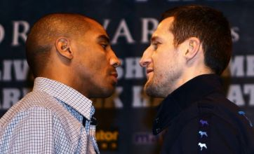 Carl Froch prepares to take on Andre Ward in Atlantic City