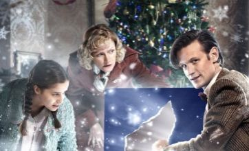 Bill Bailey joins Matt Smith in new Doctor Who Christmas special trailer