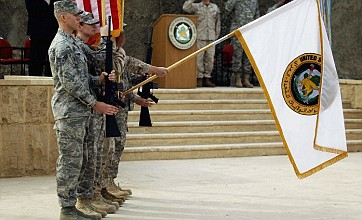 US troops end nine-year Iraqi occupation with flag ceremony