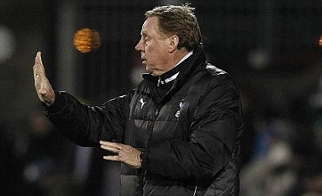 Harry Redknapp embroiled in touchline row as Spurs crash out
