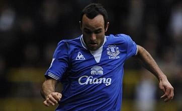Landon Donovan sent 'Welcome back Yank' message on Everton return