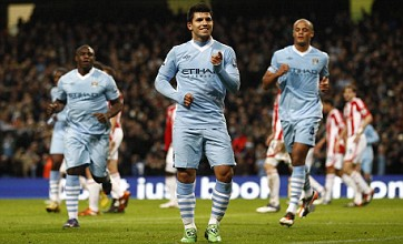 Manchester City secure top spot for Christmas with win over Stoke