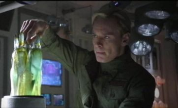Prometheus trailer released showing preview of Ridley Scott's sci-fi epic