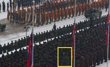 'Giant North Korean soldier' rumoured to be basketball star Ri Myung Hun