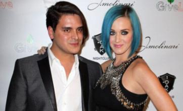 Katy Perry attends Las Vegas charity event with Markus Molinari