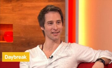 Chesney Hawkes 'gutted' over Dancing on Ice exit