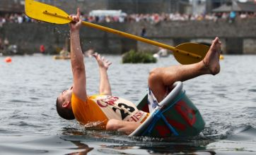 The weirdest sports in Britain: From tin-bath racing to gurning contests