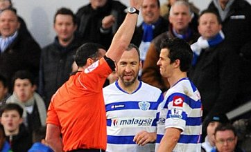 Joey Barton gets Twitter support from Stephen Fry over Norwich red card