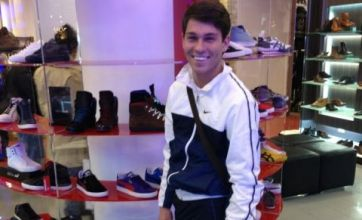 Joey Essex wearing over-sized Puma trainers: Caption competition