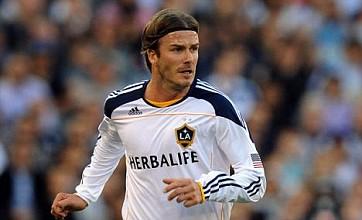 David Beckham offered Spurs loan return by Harry Redknapp