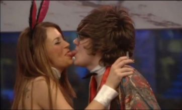 Frankie Cocozza's kissing frenzy in CBB spin the bottle – but Georgia snubs Kirk