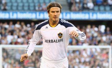 David Beckham signs new two-year LA Galaxy deal