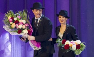 Mark Rhodes is latest celeb to skate off Dancing On Ice